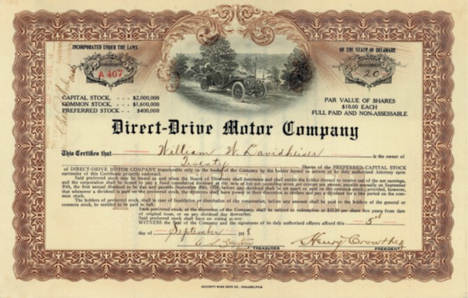 Direct-Drive Motor Company